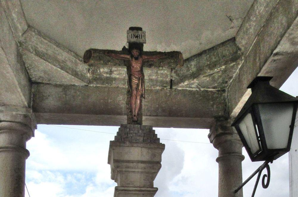 Cruzeiro de Aguada de Baixo - Pormenor
