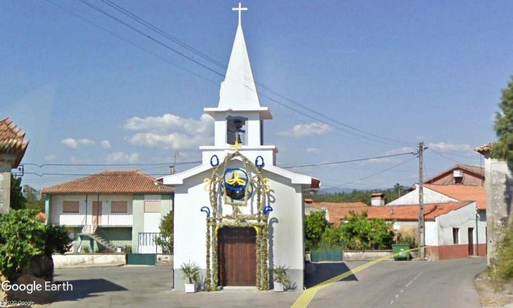 Capela de São Tomé, em Forcada