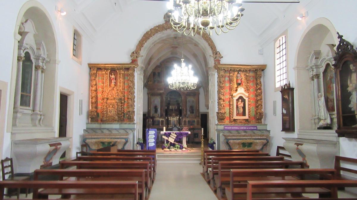 Igreja de Trofa do Vouga - Nave - Capela-mor