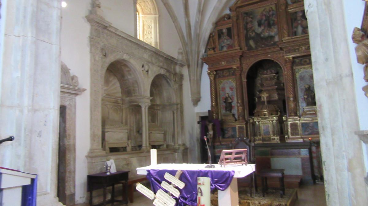 Igreja de Trofa do Vouga - Capela-mor - Esquerda