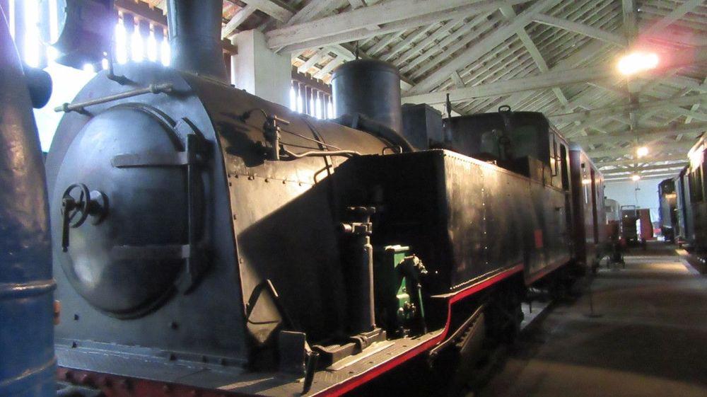 Museu Ferroviário - Interior