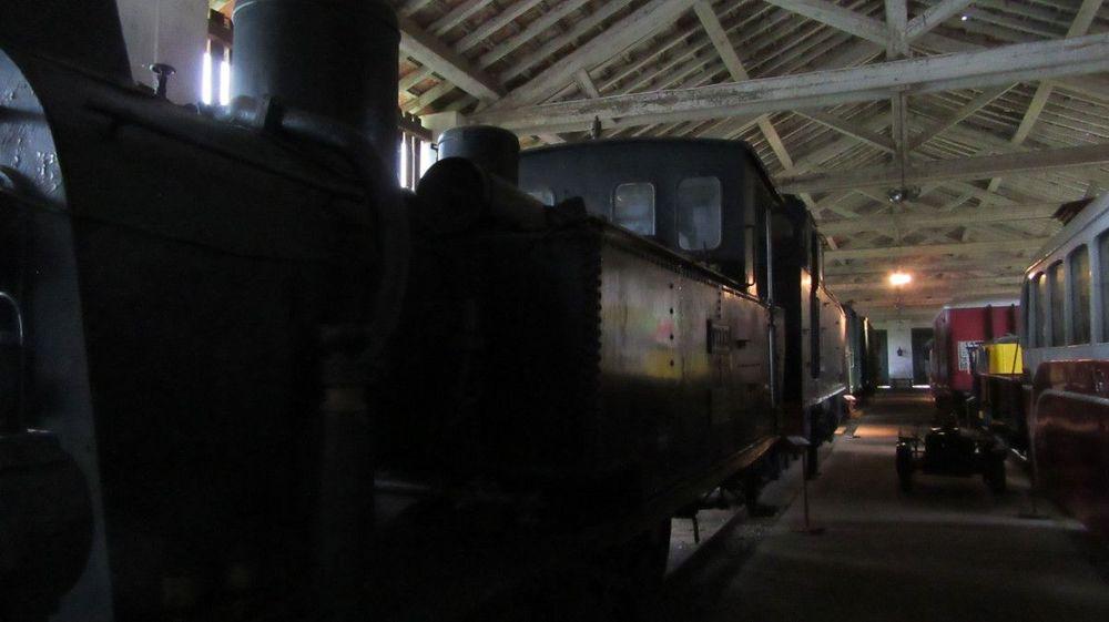 Museu Ferroviário - Locomotiva a Carvão