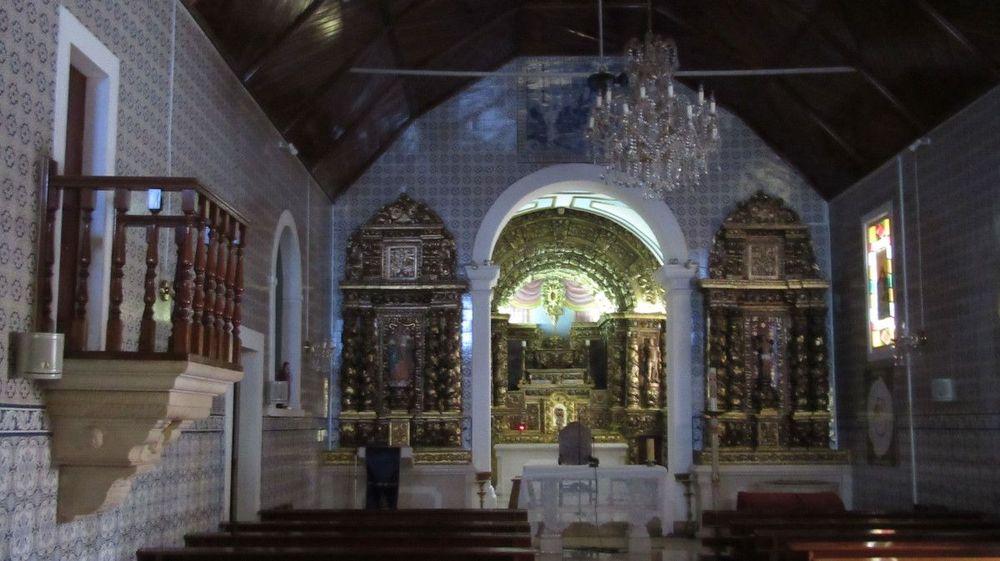 Igreja de Óis da Ribeira - Interior - Altar-mor