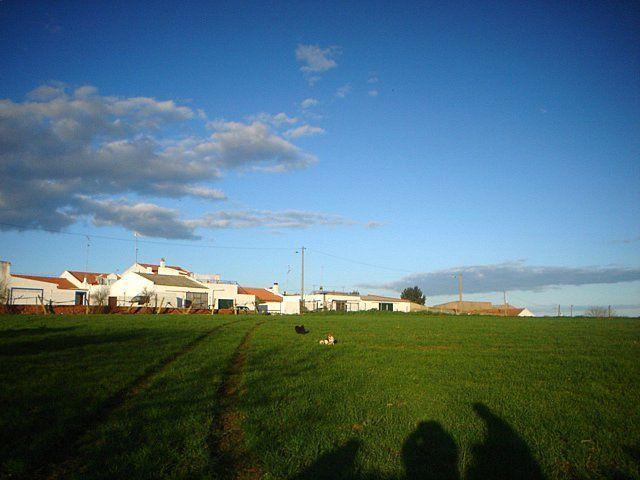 Vista de Jungeiros, de sudoeste