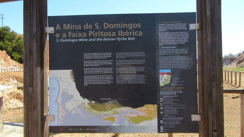 Mina - Placa Informativa