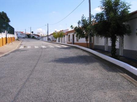 Uma rua de Safara