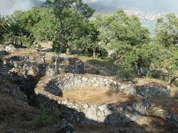 Citânia de Briteiros ruínas