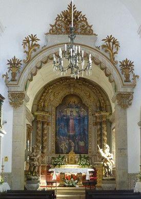 Capela-mor da Igreja Misericórdia