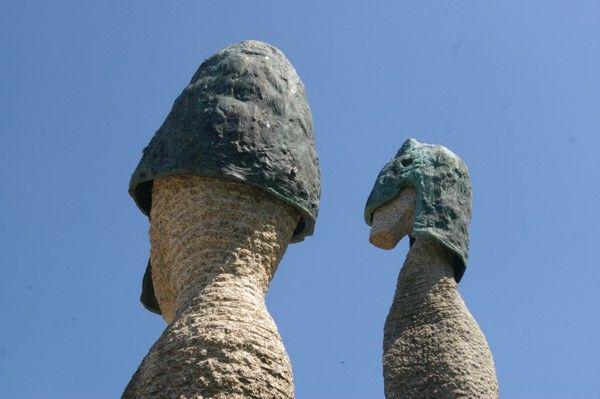 Cabeças das Estátuas do Campo da Ataca
