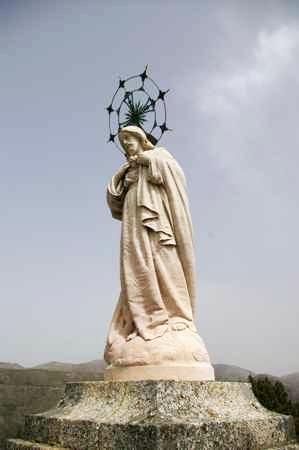 Bom Jesus das Mós, estátua