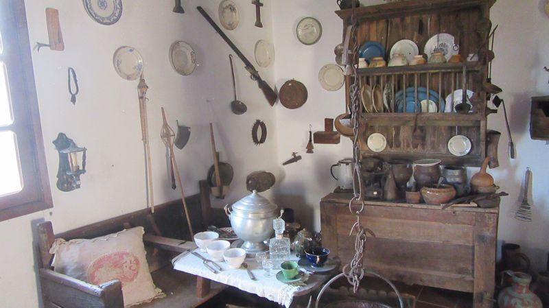 Museu da Aldeia - cozinha