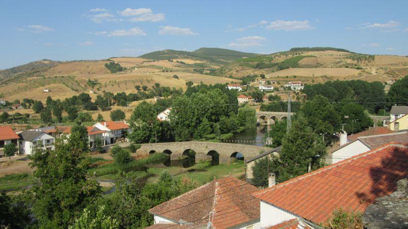 Ponte romana vista da igreja