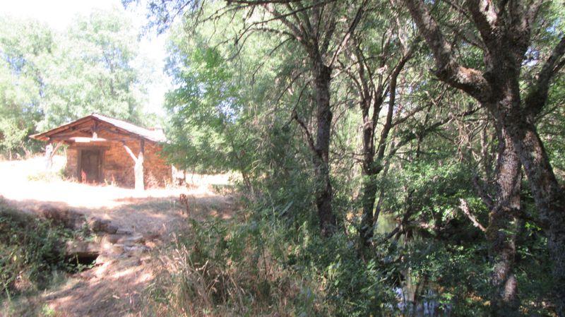 Azenha de Rabal e o rio Sabor