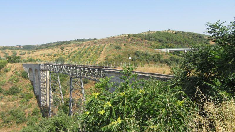 Antiga linha férrea