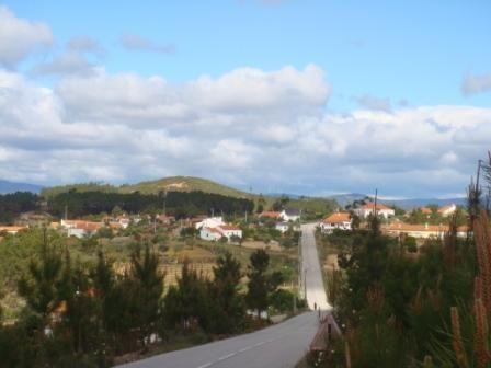 Entrada sul do Vale da Pereira