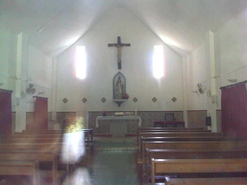 Capela Senhora da Alagada por dentro