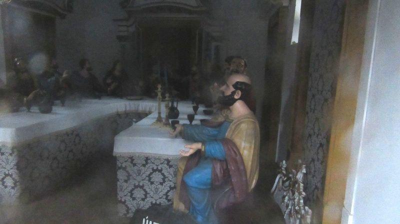Santuário de Nossa Senhora das Preces - Última Ceia