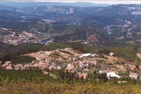 Panorama sobre o rio Zêzere