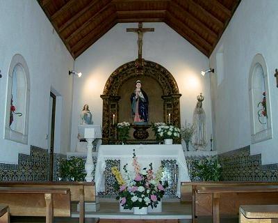 Capela da Póvoa - interior