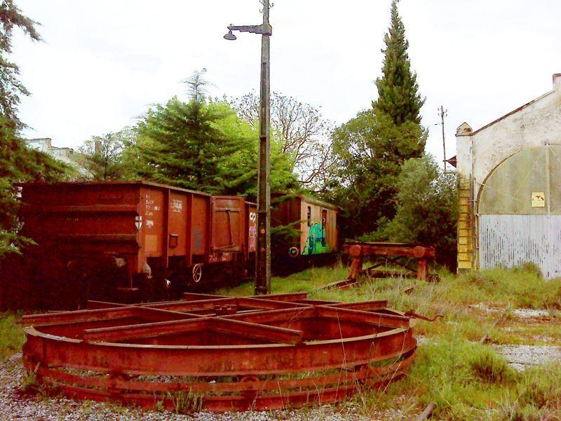 Cocheira de Locomotivas de Estremoz - manobras