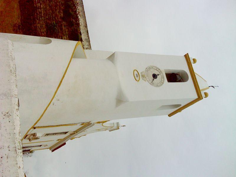 Igreja Matriz de São Salvador do Mundo - lateral torre