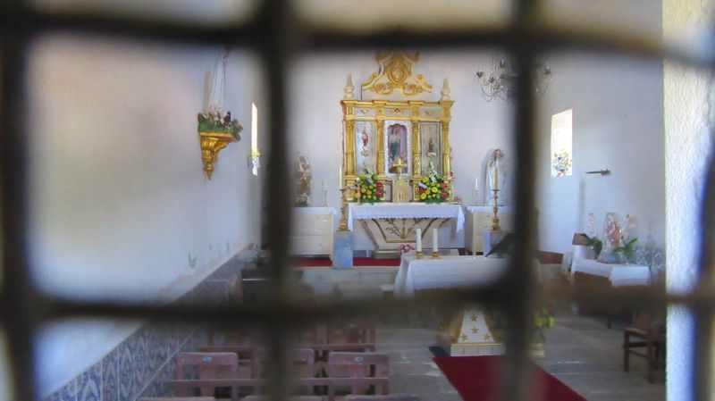 Capela de Nossa Senhora do Amparo - Interior