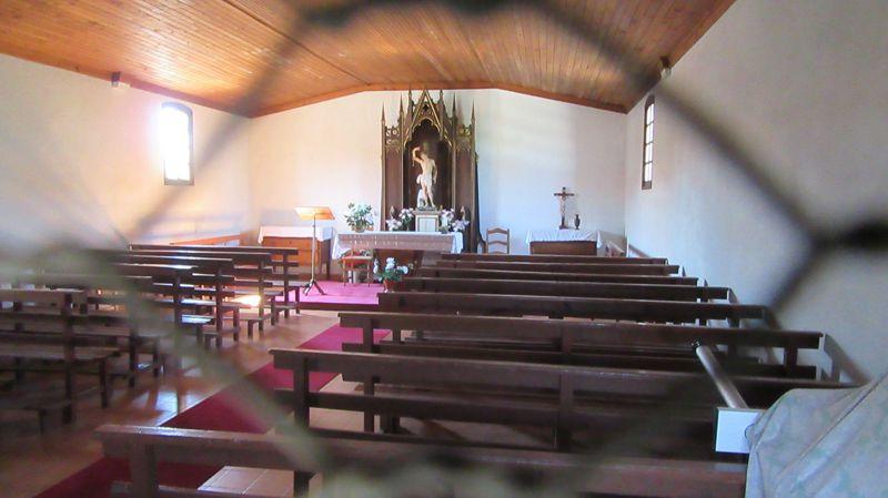 Capela de São Sebastião - Interior