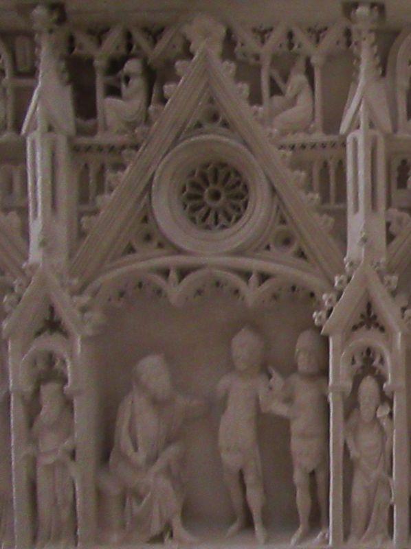 Túmulo D. Inês de Castro - direita painel 4