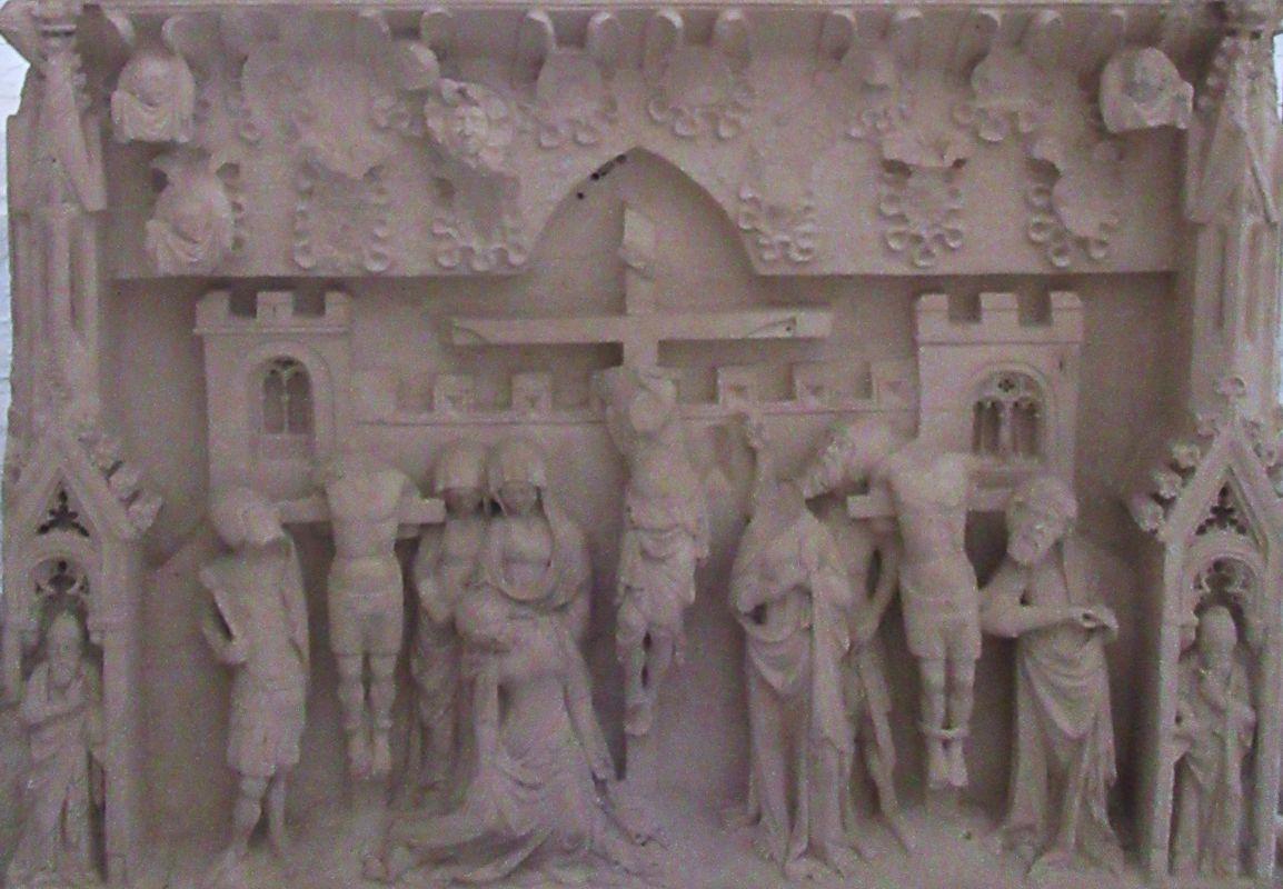 Túmulo D. Inês Castro - cabeceira