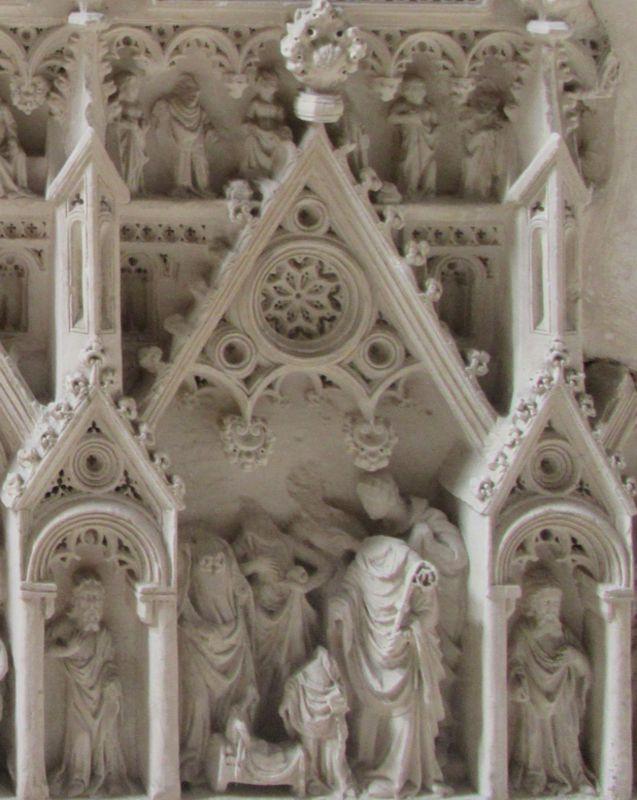 Túmulo D. Pedro I - direita painel 3