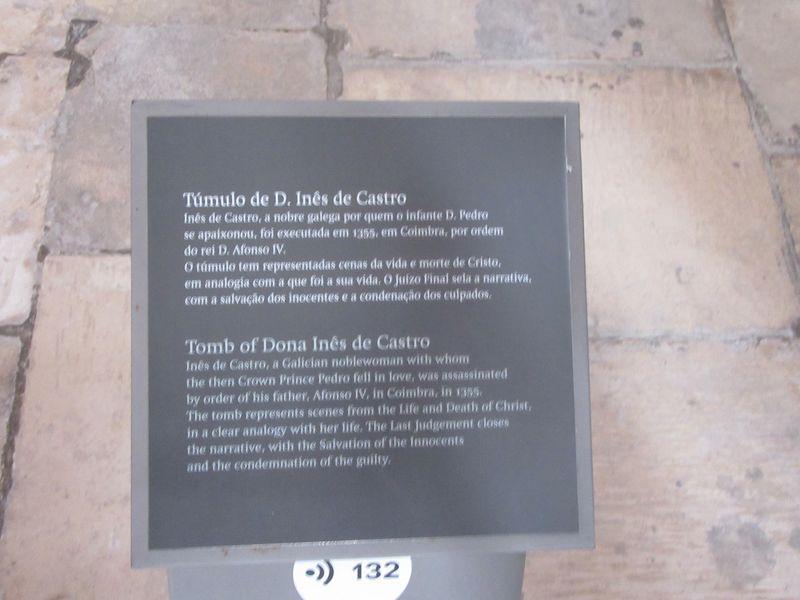 Túmulo de D. Inês de Castro