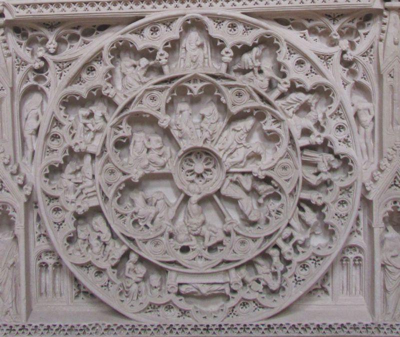 Túmulo de D. Pedro I - cabeceira