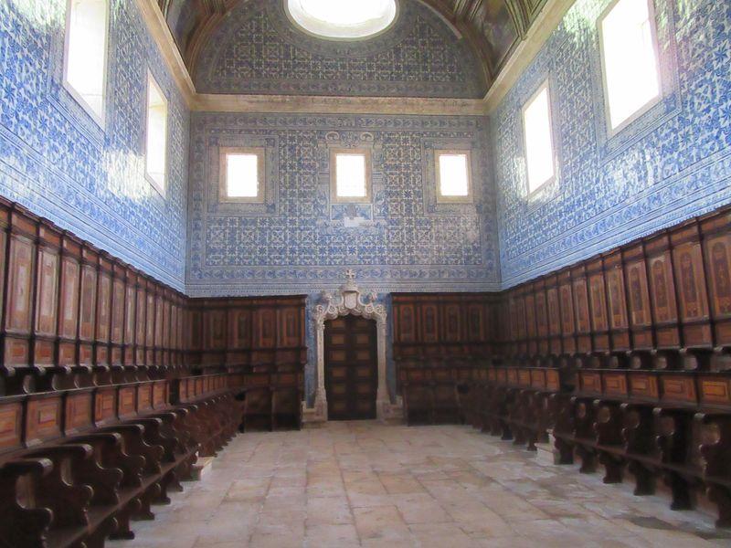Mosteiro de Coz - Coro