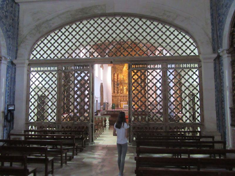 Mosteiro de Coz - Clausura