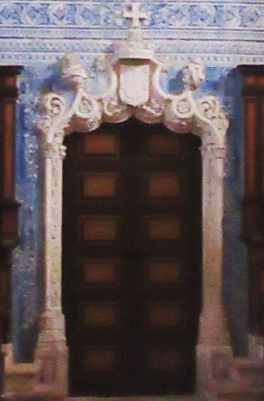 Mosteiro de Coz - Porta manuelina