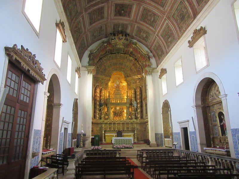 Mosteiro de Coz - Altar-mor