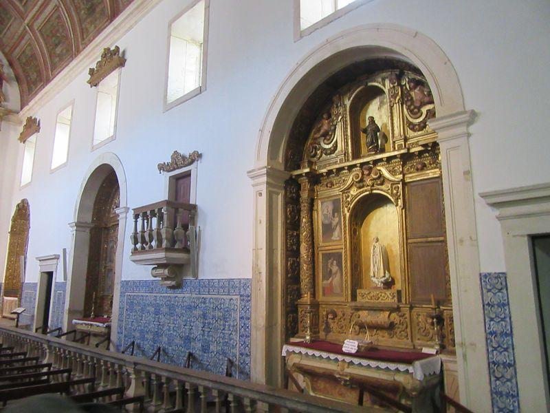Mosteiro de Coz - Altar lateral