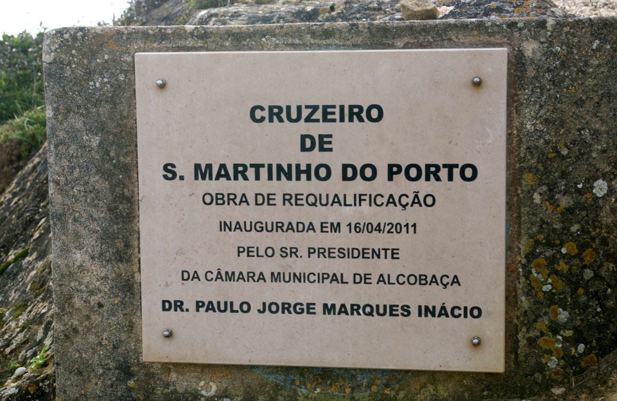 Cruzeiro de Santo António - Placa