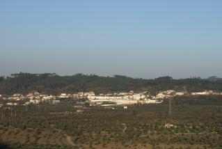 Vista de Alvaiázere