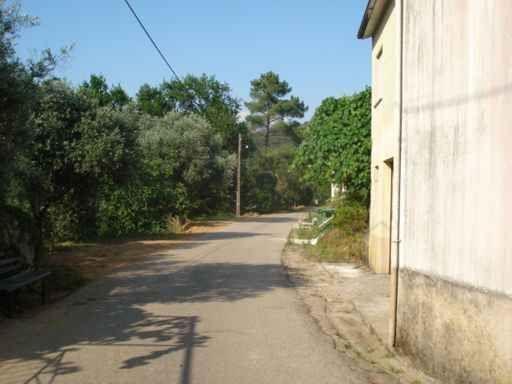 Vista da estrada