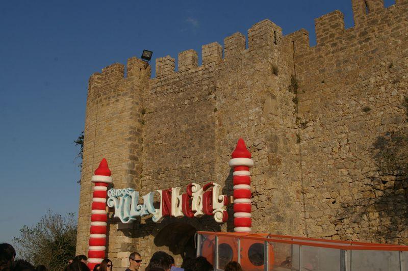Castelo - Vila Natal - entrada