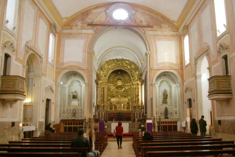 Igreja de S. Pedro - interior