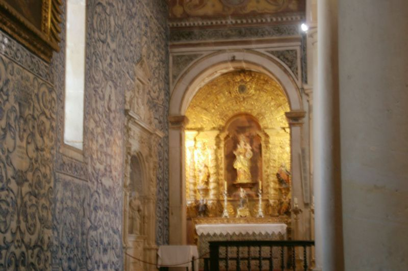 Igreja de Santa Maria - altar lateral