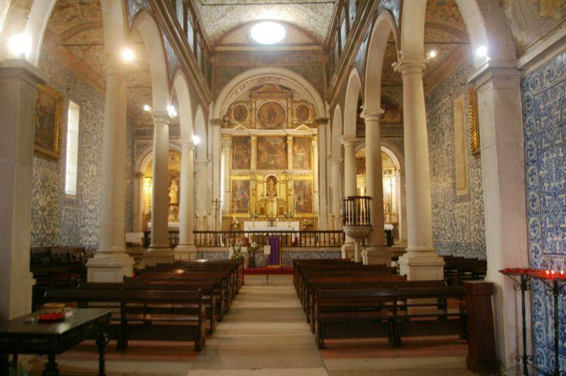 Igreja de Santa Maria - interior