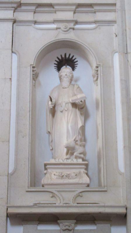 Estátua de S. Lucas