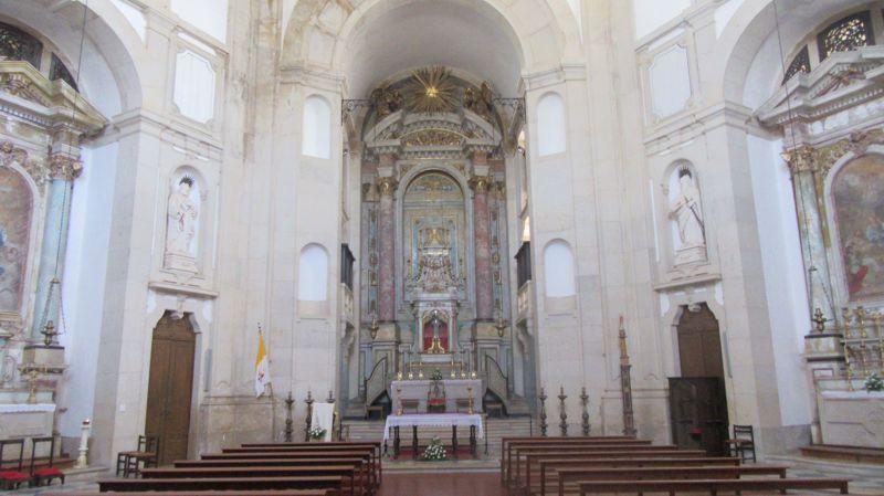 Santuário do Senhor Jesus da Pedra - Interior