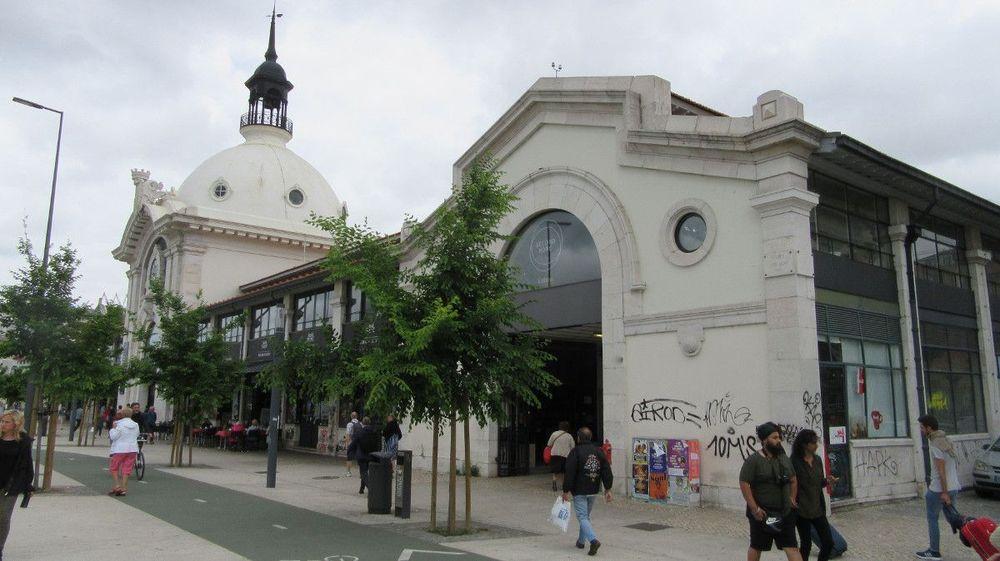 Exterior do Mercado da Ribeira