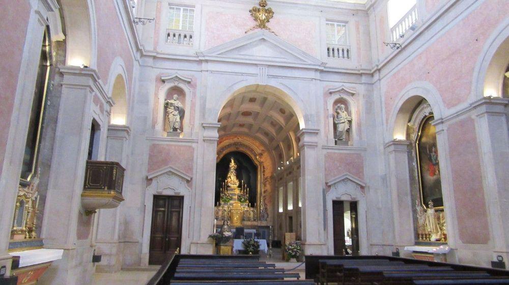 Igreja da Conceição Velha - Nave - Altar-mor