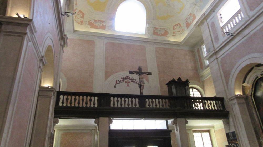 Igreja da Conceição Velha - Coro alto e órgão