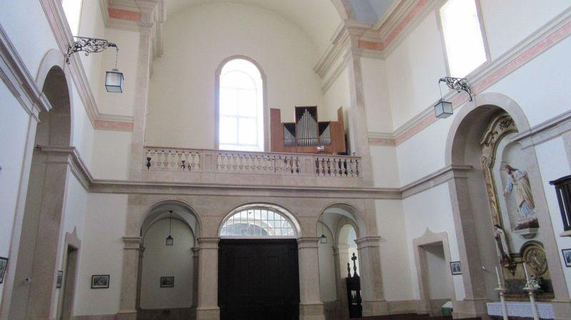 Igreja de Sobral de Monte Agraço - Coro alto